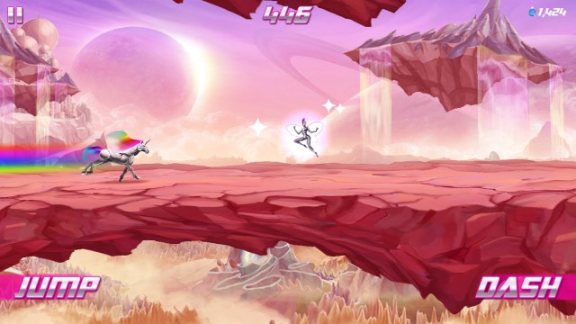 Have Your Wishes Come True In Robot Unicorn Attack 2
