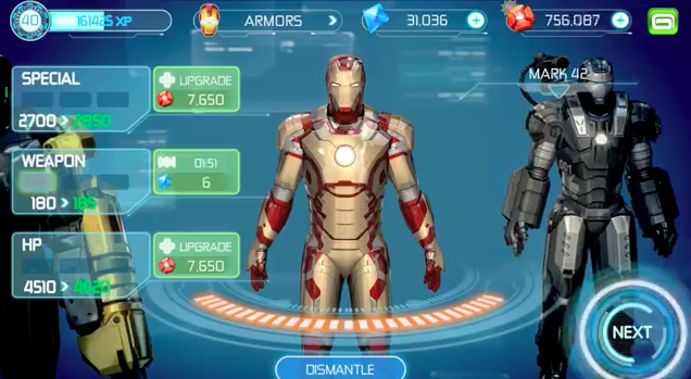 New Iron Man 3 Game Trailer From Gameloft Shows Off Superhero's Suits Of Armor
