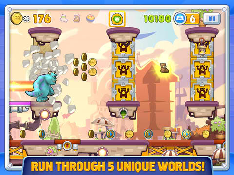 Spring Into Action To Conquer The Cherry Mountains In Monsters, Inc. Run