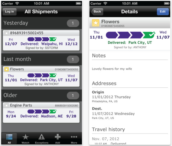 FedEx Mobile Updated To Add Delivery Customization Options