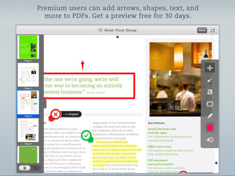 PDF Annotation Capability Finally Comes To Skitch For iOS