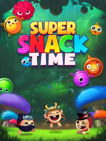 Get Your Zen On While Popping Some Juicy Creatures In Super Snack Time