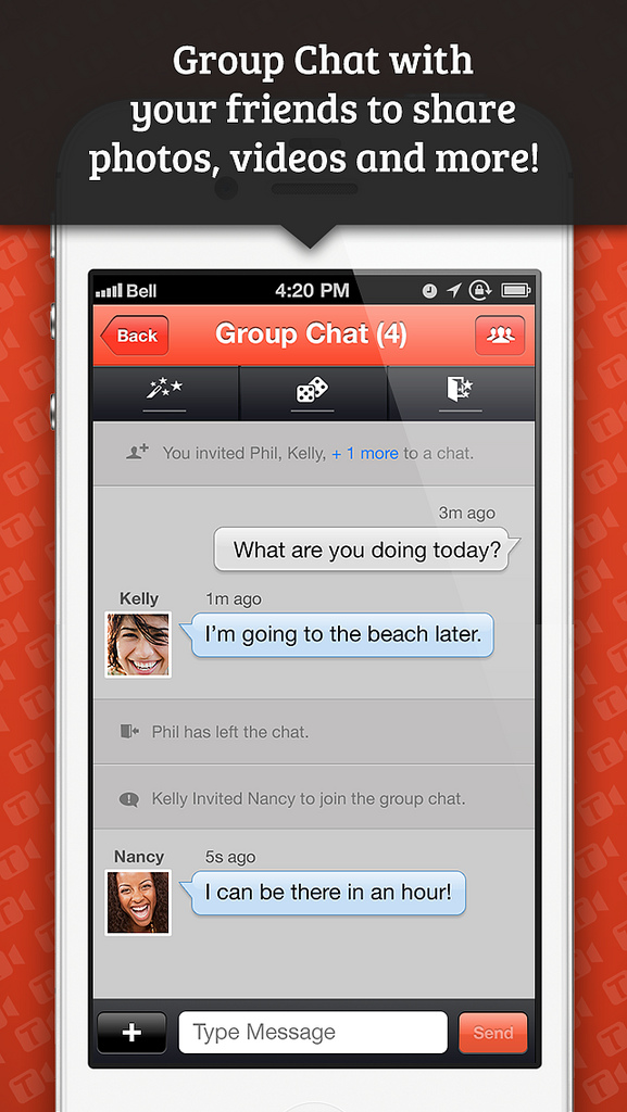 tango app for iphone it takes two or more to popular messaging app 2810