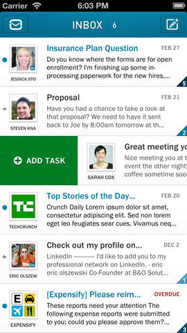 Email Client Plus Task Manager App Taskbox Updated With More Features