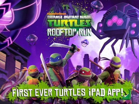 Booyakasha! Nickelodeon Unleashes Teenage Mutant Ninja Turtles: Rooftop Run