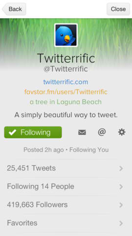 Twitterrific 5 Updated With App Badges, Favstar Support, Twitter Trends And More