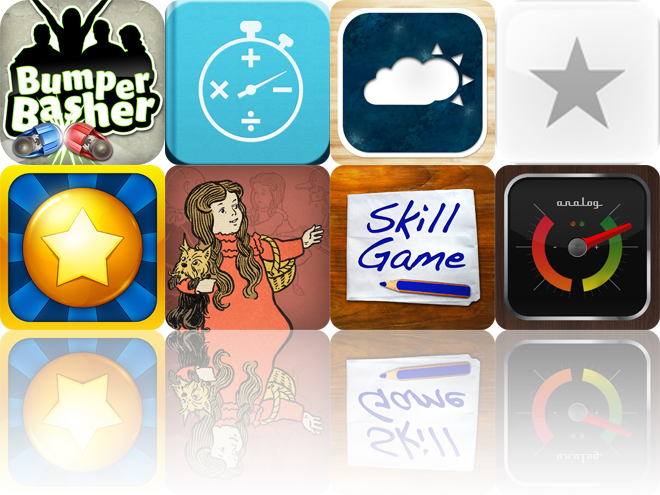 Today's Apps Gone Free: Bumper Basher, Sakura Quick Math, Soaring And More