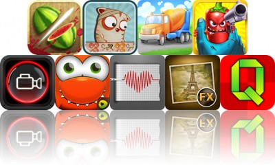 Today's Apps Gone Free: Fruit Ninja, Trauma Ted, Trucks And Things That Go And More