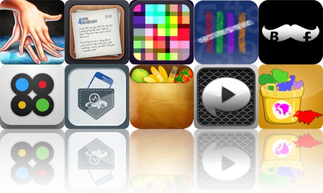 Today's Apps Gone Free: Amazing Fingers, Journalized, Makanim And More