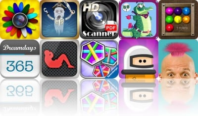 Today's Apps Gone Free: FX Photo Studio, Plunderland, Pocket Scanner HD And More
