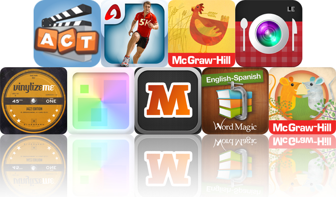 Today's Apps Gone Free: Acting Out, Run A 5K, Little Red Hen And More