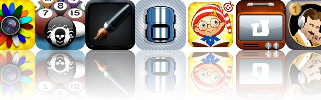 Today's Apps Gone Free: FX Photo Studio HD, Killer Pool, Sumo Paint And More