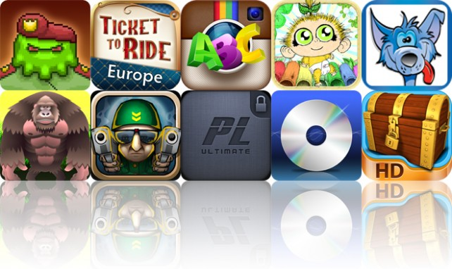Today's Apps Gone Free: Infestor, Ticket To Ride Europe, InstaFonts And More