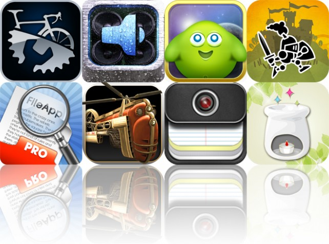 Today's Apps Gone Free: Bike Repair, SimplyRain, Alien Hatchi And More