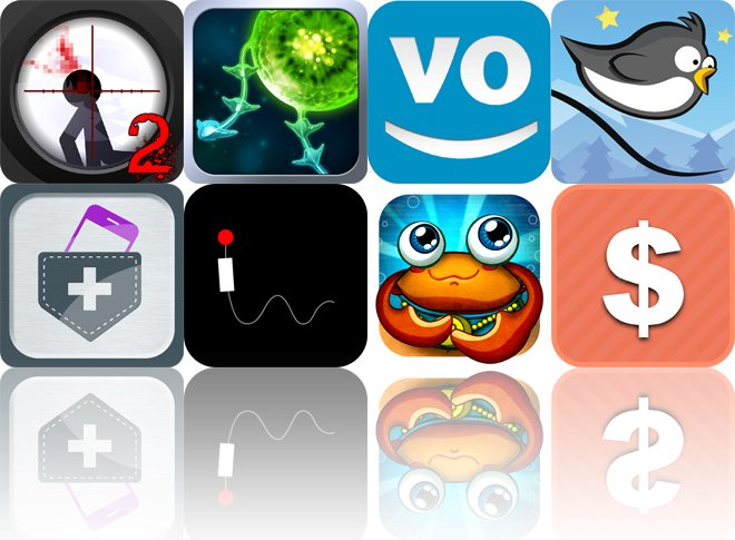 Today's Apps Gone Free: Clear Vision 2, Tentacle Wars, WonderVoice And More