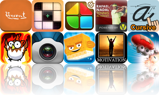 Today's Apps Gone Free: Van Gogh: Painted With Words, Nozoku, Kids Mosaic And More