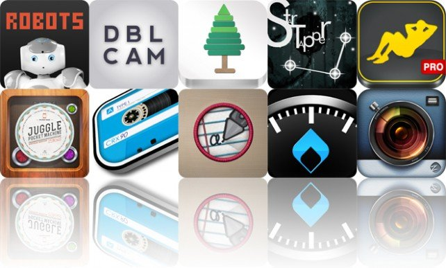 Today's Apps Gone Free: Robots, Dblcam, Roots To Words And More