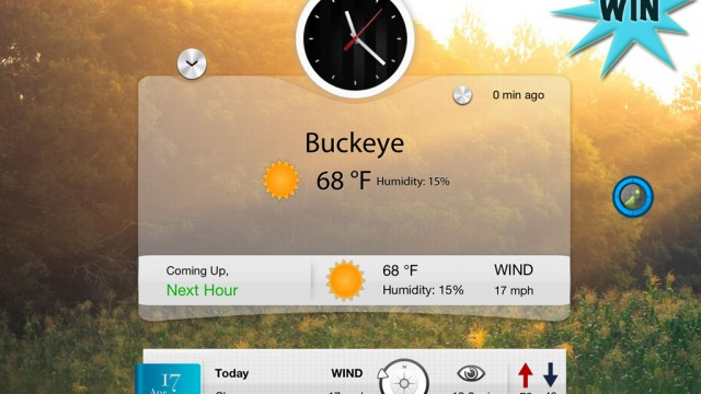 Check The Weather With Breathe For A Chance To Win A $10 iTunes Gift Card