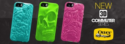 OtterBox's New 3-D Cases Bring Another Dimension Of Fashion To The iPhone 5