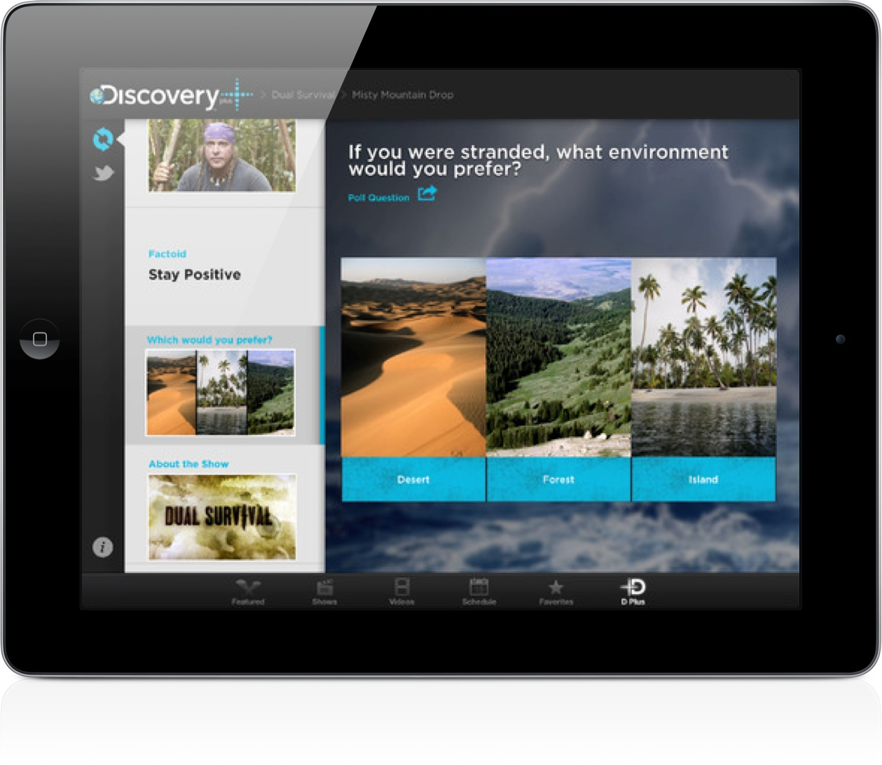 Discovery Channel HD App Now Includes A Second Screen Feature Called 'Plus'