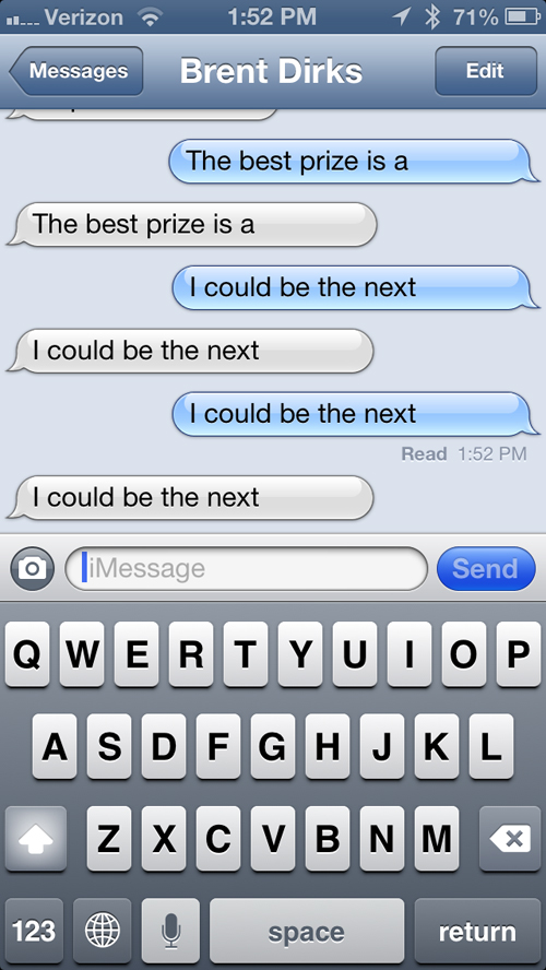 Interesting iMessage Bug Deletes The Last Word Of Certain Phrases