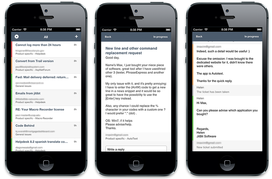 Jitbit Helpdesk App Hits The App Store As Support Ticket System Goes Mobile