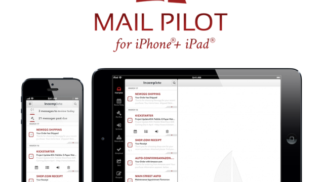 Mail Pilot For iOS Launches, Promises To Turn Your Email Inbox Into An Intuitive To-Do List