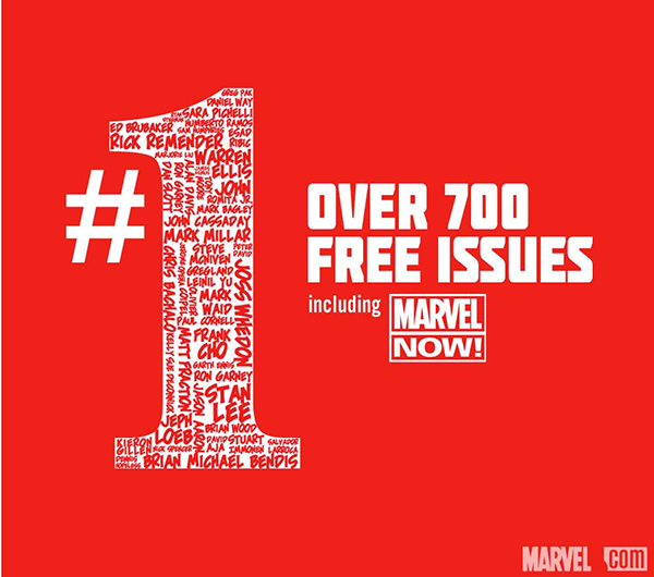 Marvel Is Once Again Offering Over 700 Free Digital Comic Books