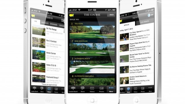 Live From Augusta: The Masters Tournament Once Again Plays On iOS Devices