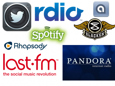 The Best Streaming Music Services: Rdio, Spotify, Slacker Radio And More