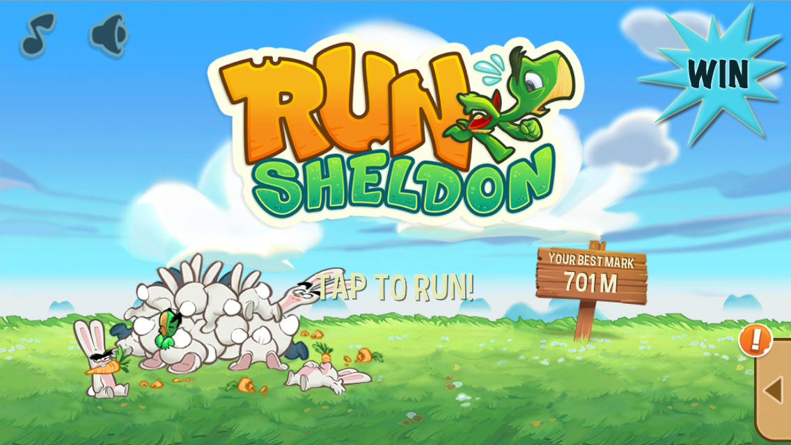 Run With Sheldon For A Chance To Win A $10 iTunes Gift Card