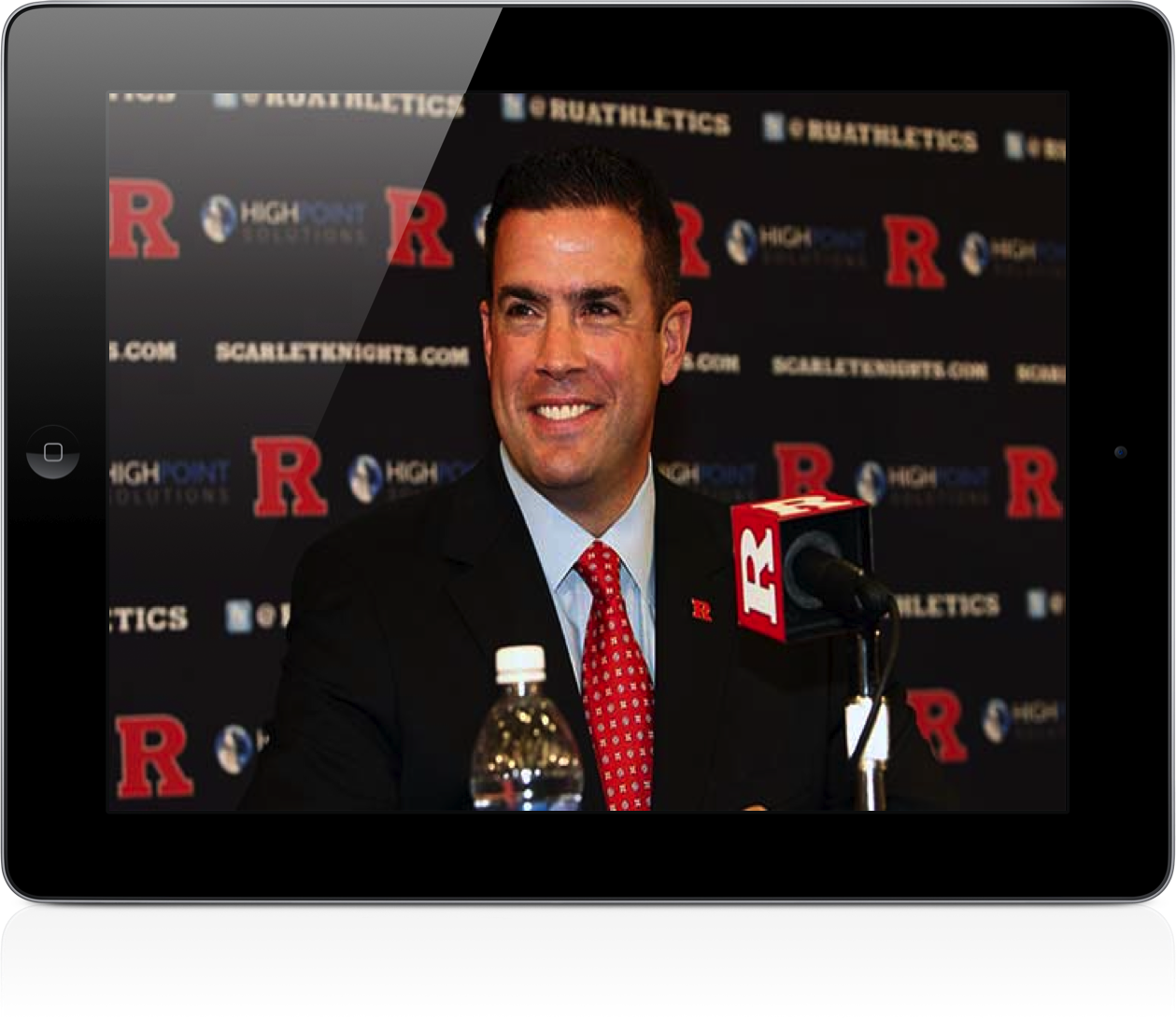 Get Fired From Rutgers University, Receive A Free iPad