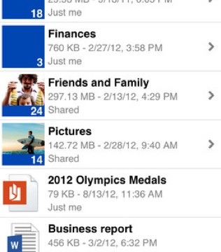 Updated SkyDrive App Finally Arrives After Microsoft, Apple Settle Differences