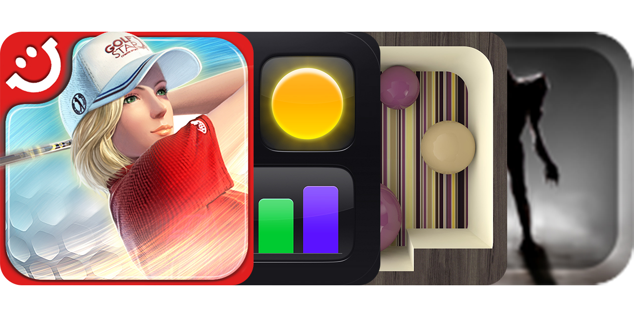 Today's Best Apps: GolfStar, Status Board, JezzBall 3D And Garden of Fear