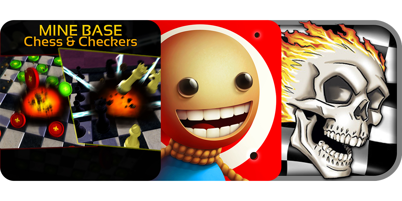 Today's Best Apps: Mine Base Chess & Checkers, Kick The Buddy: No Mercy And More