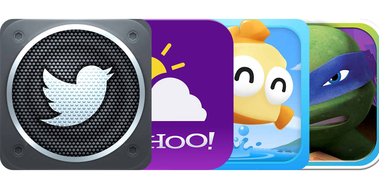 Today's Best Apps: Twitter Music, Yahoo! Weather, Fish Out Of Water And More