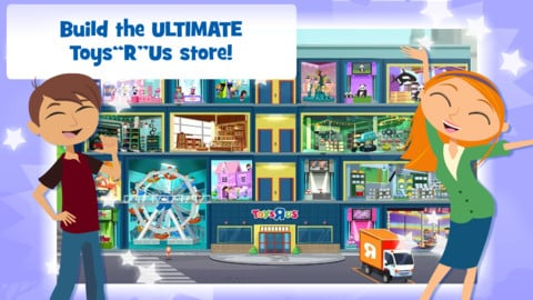 "Run Your Own Toy Store And Earn Real Toy Coupons With Toys""R""Us Towers"