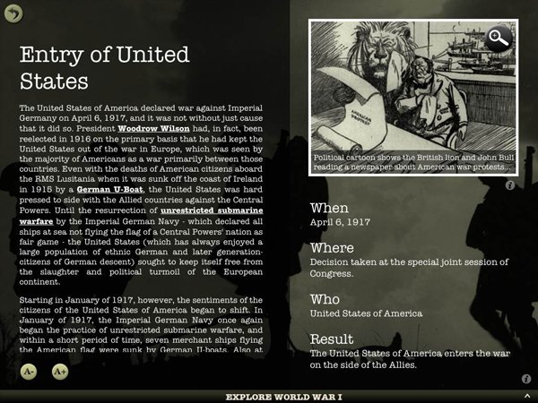 World War I Interactive Brings The Conflict To Life
