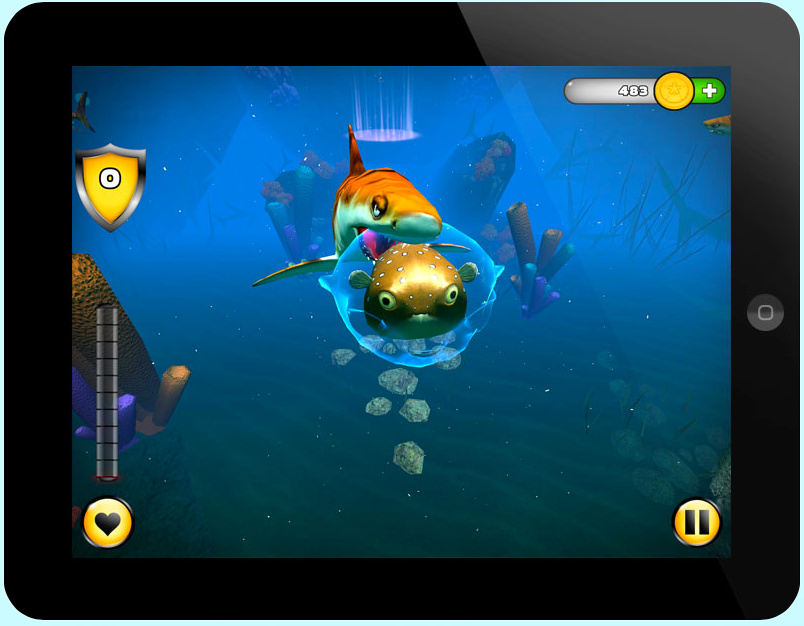 Become The Superhero Of The Underwater Reef In Superfugu For iPad