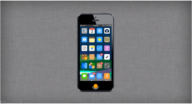A New iOS 7 Concept Lets You Decide Whether To Go Flat Or Not