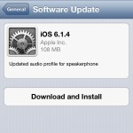 Apple Releases iOS 6.1.4 For The iPhone 5