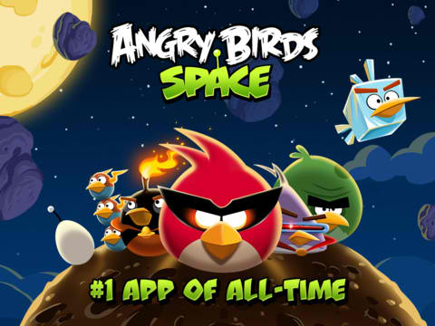 Blast Off Into The App Store And Download Angry Birds Space Right Now For Free