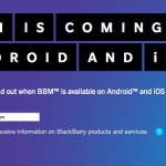BlackBerry Messenger Finally Coming To iOS And Android This Summer