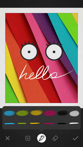 Get In The Loop: Wacom Launches Visual Messaging App Bamboo Loop For iPhone