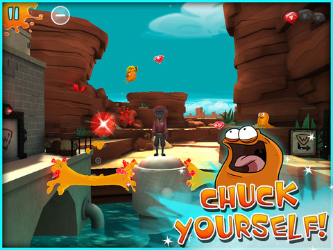 Help A Critter Feed His Crystal-Loving Friend In Chuck The Muck