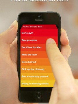 Popular To-Do App Clear Now Supports List Emailing, iPad Edition Coming Soon
