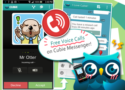 Free Voice Calling Finally Arrives In Cubie Messenger
