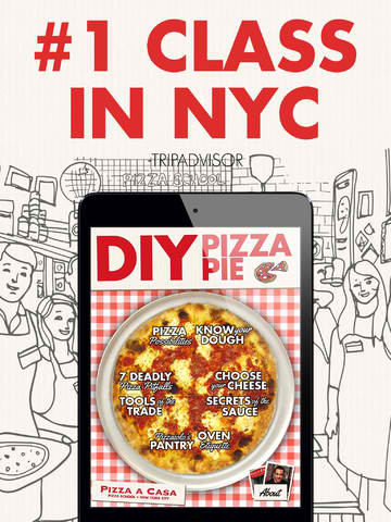 Learn All About The Delicious Art Of Making Pizza With DIY Pizza Pie For iPad