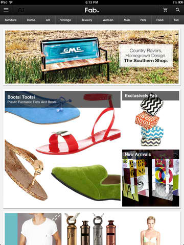 Fab Finds Are At Your Fingertips With Newly Updated Everyday Design App Fab.com