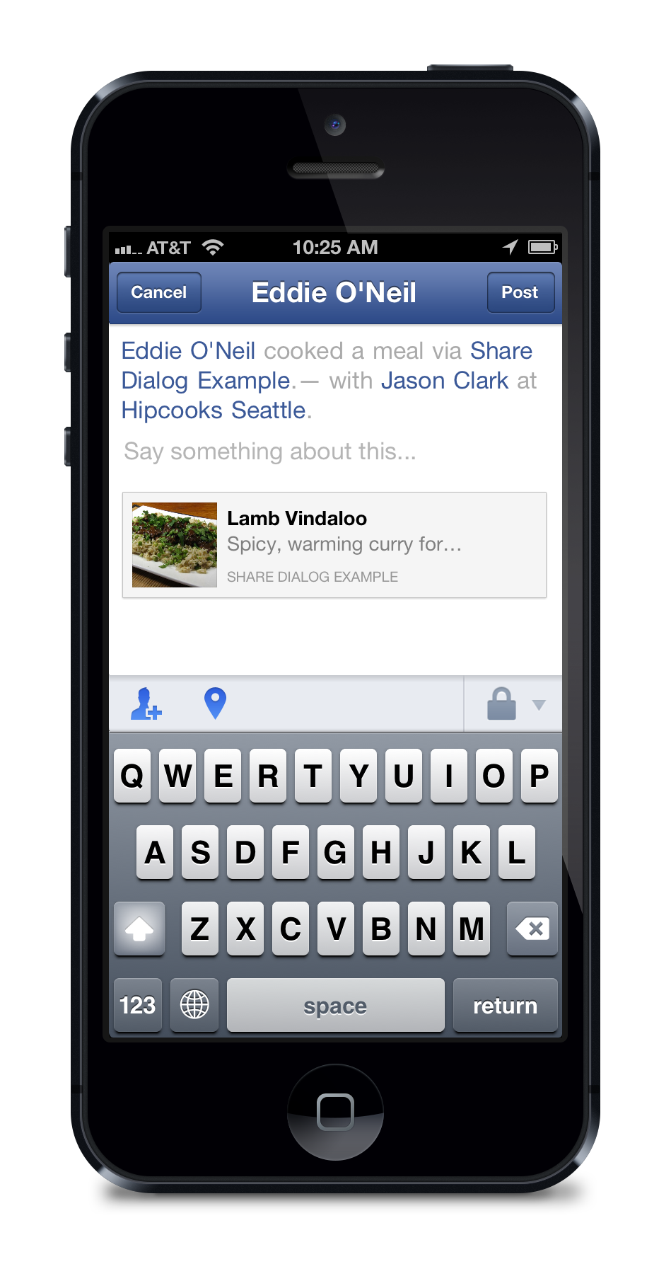 Facebook's New Share Dialog For iOS Features Streamlined App Activity Sharing